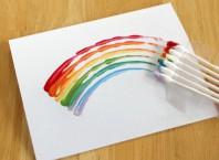 Как нарисовать радугу?