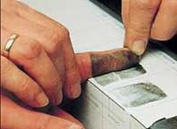 Как берут отражения пальцев: описание процедуры