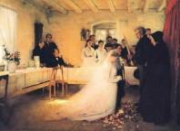 Как благословлять нареченного и нареченную?