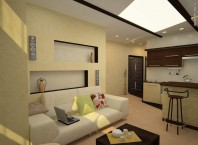 Как расставить мебель в квартире-студии?