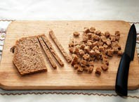 Как сушить хлеб в духовке?