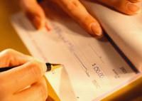 Как правильно заполнить денежный чек?