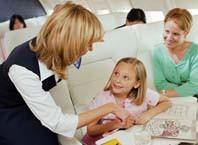 Как успокоить ребенка в самолете?