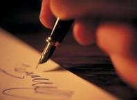 Как улучшить свой почерк? Каллиграфический почерк