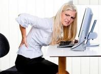 Как сохранить правильную осанку при сидячей работе?
