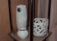 Как сделать с папье-маше вазу?