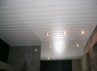Как сделать ремонт потолка в ванной?