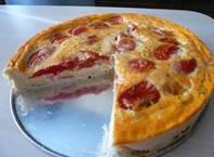 Как приготовить пирог домашний с помидорами и сыром?