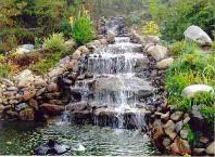 Как сделать водопад в саду своими руками?