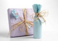 Как упаковать подарок в бумагу?