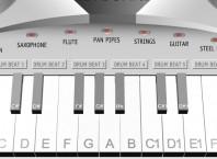 Что из себя представляет виртуальное пианино на клавиатуре?