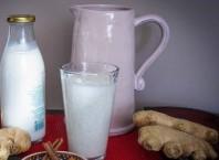 Имбирь с молоком для похудения