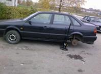 Как поменять шины?