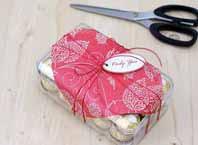 Как украсить коробку конфет в подарок на Новый Год?