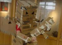 Как сделать костюм робота?