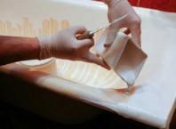 Как покрасить чугунную ванную, как покрасить ванную в домашних условиях?