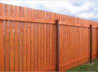 Как сделать забор из досок?